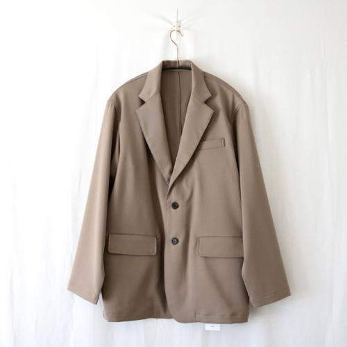 ATHA・DRY TOUCH NOTCHED LAPEL BOX JACKET