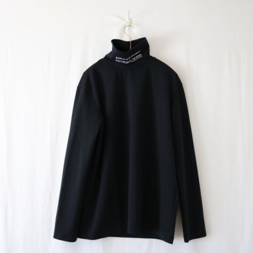 COTD EMBROIDERY HI NECK LS