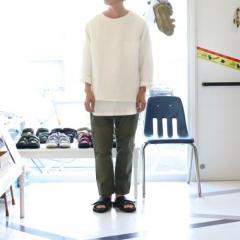 THEE・LINEN LONG SLEEVE TEE