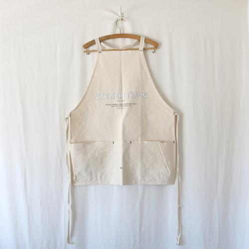 ATELIER BÉTON・CANVAS LONG APRON
