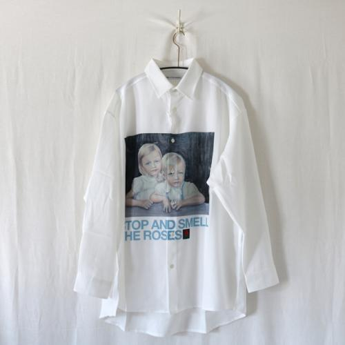 OIL PAINTING PRINT SHIRT
