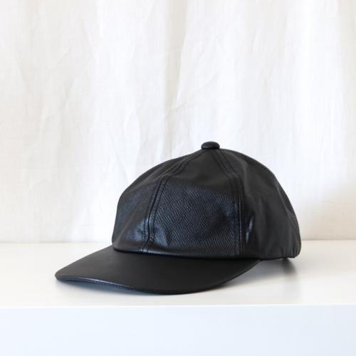 COMESANDGOES・COW LEATHER CAP
