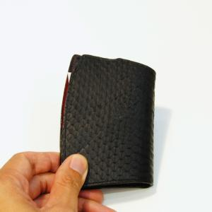 knifform for business card snakeskin