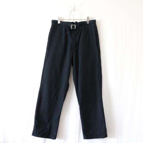 EURO DEADSTOCK・BW COTTON WORK PANTS