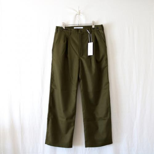 Children of the discordance・US WOOL WIDE PANTS