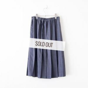 Charpentier de Vaisseau・ Pleated Skirt