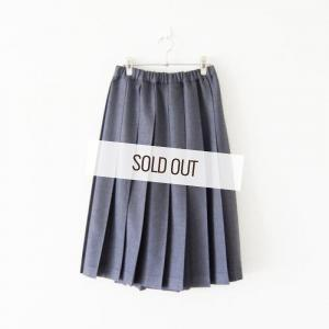 Charpentier de Vaisseau・Pleated Skirt Wool