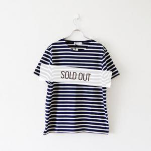 THEE・BORDER TEE(NAVY×KINARI)