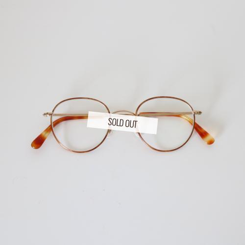 Buddy Optical ・PRINCETON-gold enamel