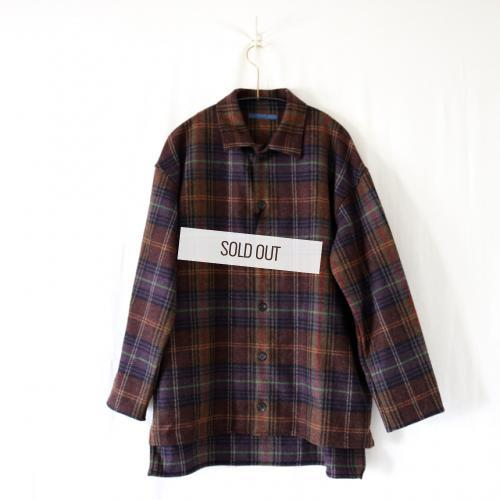 semoh ・FRENCH DEADSTOCK WOOL ジャケット