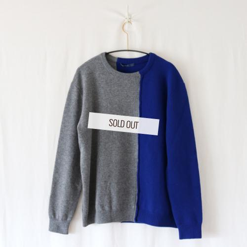 semoh ・LAMBS WOOL SWEATER