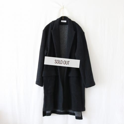 THEE・W-Face Knit Gown Coat